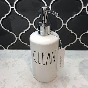 Rae Dunn CLEAN Soap Dispenser